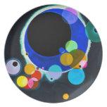 Kandinsky Several Circles Plate