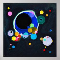 Kandinsky Several Circles Poster