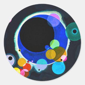 Kandinsky Several Circles Stickers