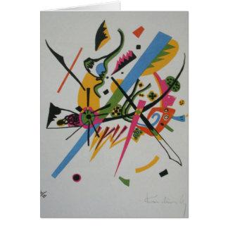 Kandinsky Small Worlds Kleine Welts I Card