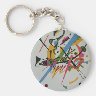 Kandinsky Small Worlds Kleine Welts I Basic Round Button Keychain