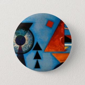 Kandinsky Soft Hard Abstract Button