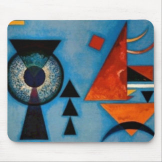 Kandinsky Soft Hard Abstract Mouse Pad