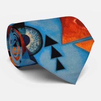 Kandinsky Soft Hard Abstract Neck Tie