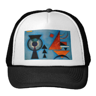 Kandinsky Soft Hard Abstract Trucker Hat