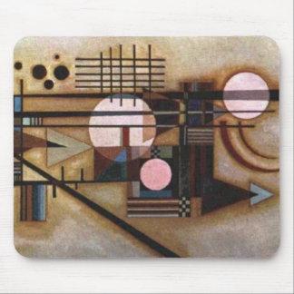 Kandinsky Softened Construction Mouse Pad
