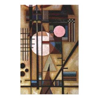 Kandinsky Softened Construction Stationery