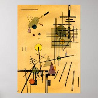 Kandinsky - Strings Poster