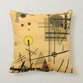 Kandinsky - Strings Throw Pillow