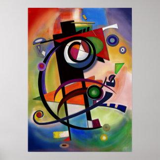 Kandinsky style poster