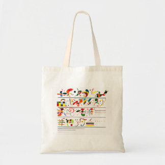 Kandinsky Succession Tote Bag