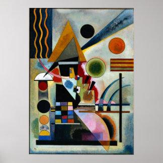 Kandinsky - Swinging Poster