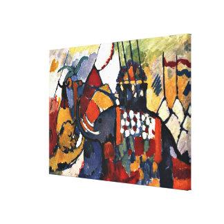 Kandinsky - The Elephant Canvas Print
