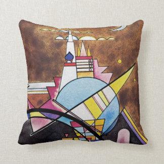 Kandinsky - The Great Gate Of Kiev Pillows