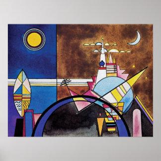 Kandinsky - The Great Gate Of Kiev Poster