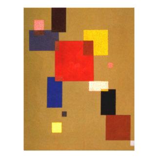 Kandinsky Thirteen Rectangles Abstract Painting Letterhead