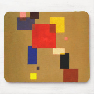 Kandinsky Thirteen Rectangles Abstract Painting Mouse Pad