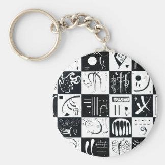 Kandinsky Thirty Key Chain