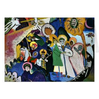 Kandinsky - todos los santos I Tarjeta De Felicitación