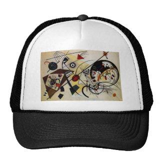 Kandinsky Transverse Unbroken Line Trucker Hat