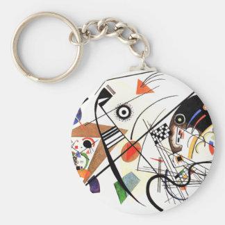 Kandinsky Tranverse Line Key Chain