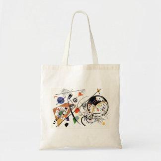 Kandinsky Tranverse Line Tote Bag