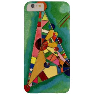 Kandinsky - triángulo multicolor funda de iPhone 6 plus barely there