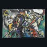 "Kandinsky - Two Ovals Kitchen Towel<br><div class=""desc"">Wassily Kandinsky abstract artwork,  Two Ovals</div>"