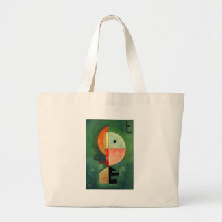 Kandinsky Upward Abstract Painting Large Tote Bag