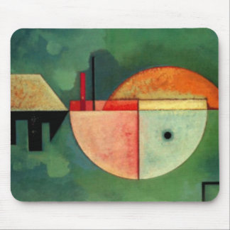 Kandinsky Upward Abstract Painting Mouse Pad