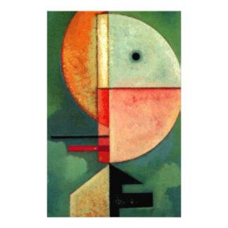 Kandinsky Upward Abstract Painting Stationery