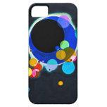 Kandinsky varios caso del iPhone 5 de los círculos iPhone 5 Case-Mate Cárcasa