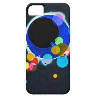 Kandinsky varios caso del iPhone 5 de los círculos iPhone 5 Carcasa