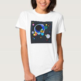 Kandinsky varios círculos playeras