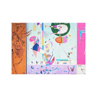 Kandinsky Various Parts Canvas Print