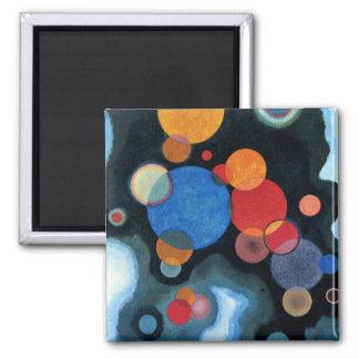 Kandinsky - Vertiefte Regung 2 Inch Square Magnet