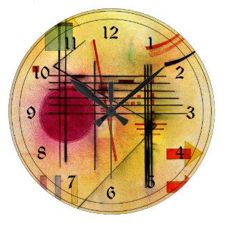 Kandinsky - vibrante reloj redondo grande