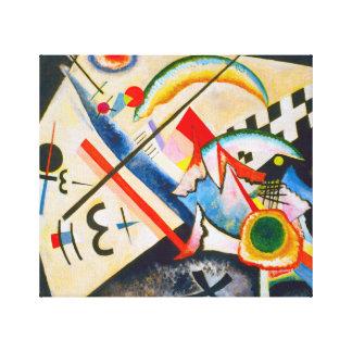 Kandinsky White Cross Canvas Print