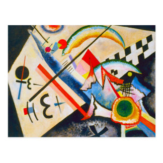 Kandinsky White Cross Postcard