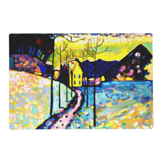 Kandinsky - Winter Landscape Placemat