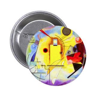 Kandinsky Yellow Red Blue Button