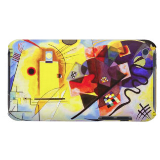Kandinsky Yellow Red Blue iPod Touch Case