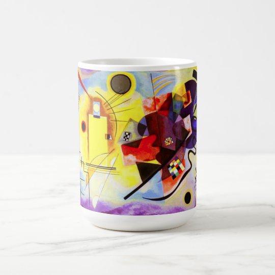 Kandinsky Yellow Red Blue Mug