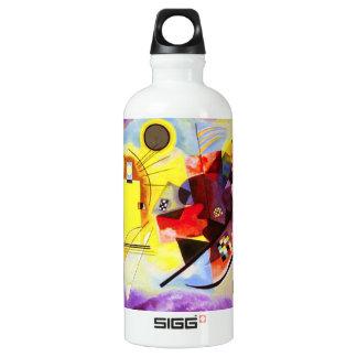 Kandinsky Yellow Red Blue SIGG Traveler 0.6L Water Bottle