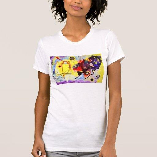 Kandinsky Yellow Red Blue T-shirt