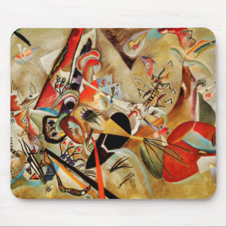 Kandinsky's Abstract Composition Mouse Pad