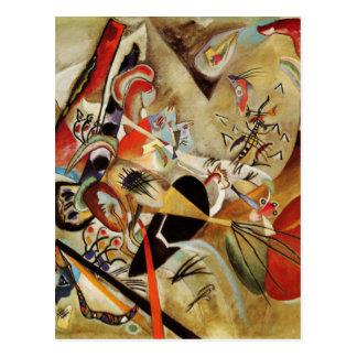 Kandinsky's Abstract Composition Postcard