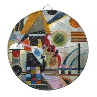 Kandinsky's Abstract Painting Swinging Dartboards