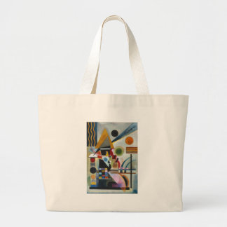 Kandinsky's Abstract Painting Swinging Large Tote Bag