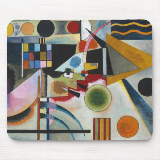 Kandinsky's Abstract Painting Swinging Mouse Pad